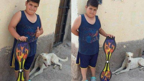 Sokak Köpeğine İlaç Almak İçin Kaykayını Satan Çocuğun Hikayesi