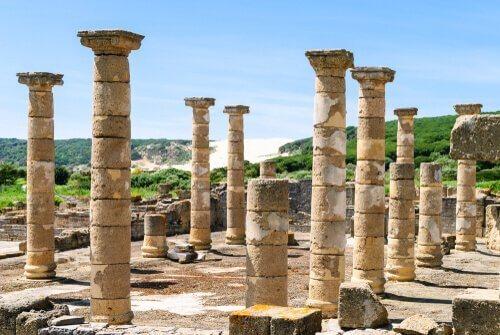 antik romadan kalma bir şehir
