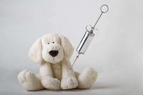 aşı olan oyuncak