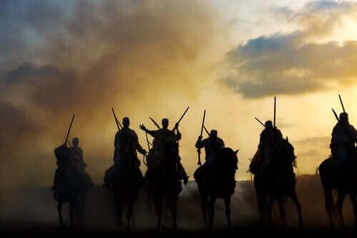 atlı savaşçılar berberi