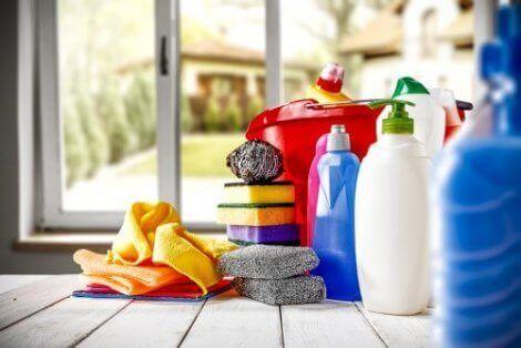 ev temizlik malzemeleri