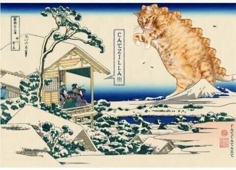 Kedileri Sanat Eserine Dönüştüren Sanatçılar