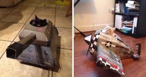 Yapıldılar: Kediler İçin Tanklar ve Uçaklar