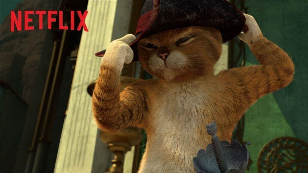 Çizmeli Kedi Artık Netflix'te Dizi Oluyor!