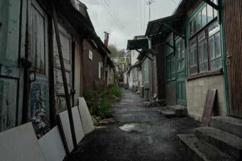 rusya'da terk edilmiş sokaklar fabrika